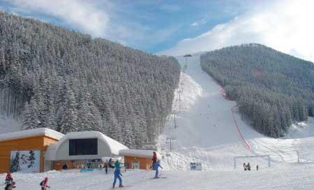 Горнолыжные склоны Болгарии