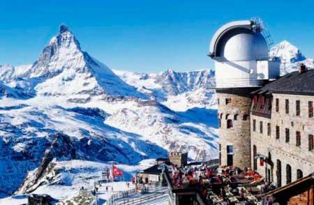 Церматт - высокогорный курорт