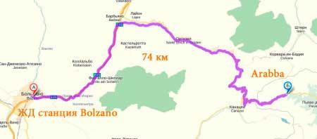 Через Bolzano
