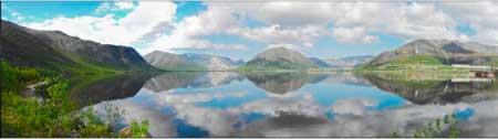 Озер Большой Вудьявр