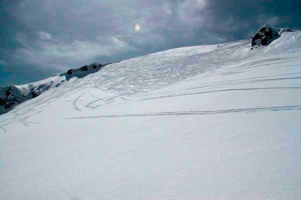 Склоны гор Грузии