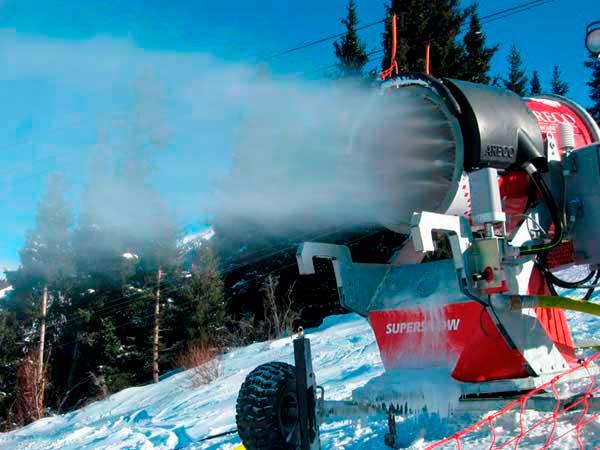 снеговые пушки