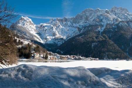 Вид на горы Италии
