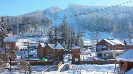 Проживание на горнолыжном курорте Мигово
