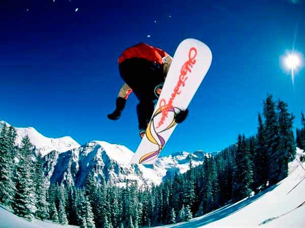 Чимбулак катание на сноуборде