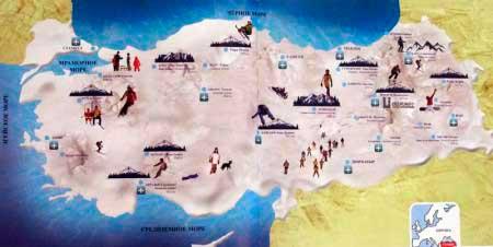 Зимние курорты Турции