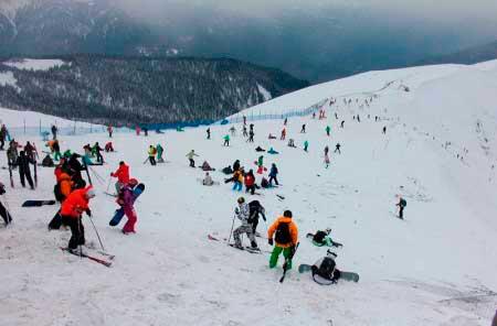 История Сочи, как горнолыжного курорта