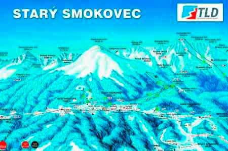 Смоковец (Smokovec) - трассы