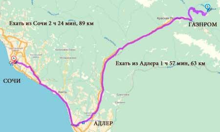 ГТЦ «Газпром» как добраться