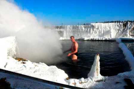 Байкал, теплые минеральные источники