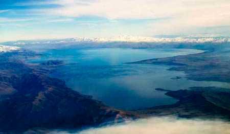 потрясающий вид на озеро Севан
