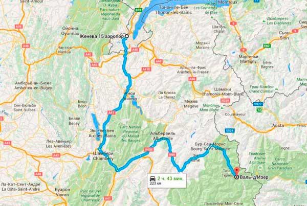 Как добраться через Женеву