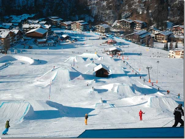 Сноубордные трассы