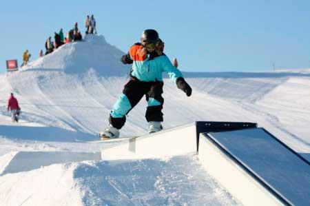 Сноуборд парк