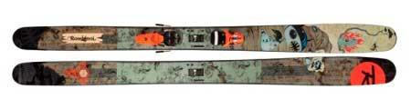 Дизайн лыж