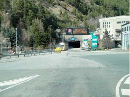 тоннель Фрежюс