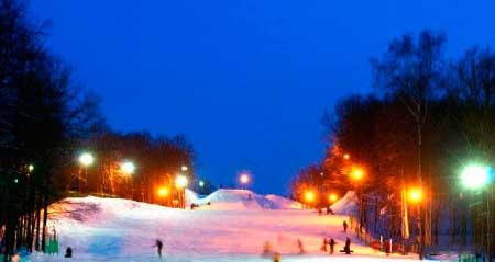 Возможности для горнолыжного спорта