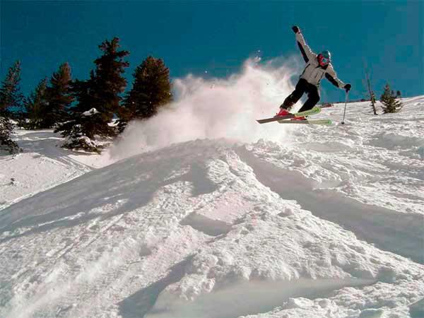 Трасса для опытных лыжников
