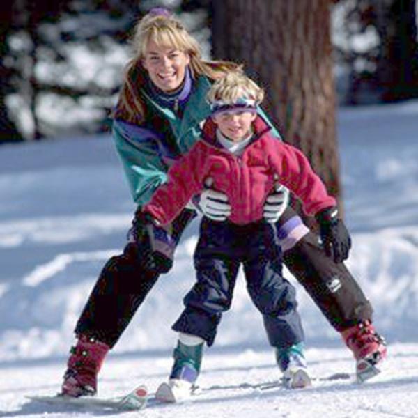 Детские горные лыжи