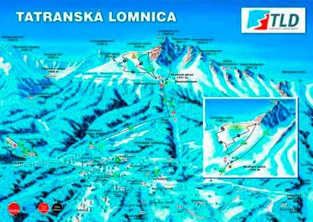 Татранска Ломница (Tatranska Lomnica) - трассы