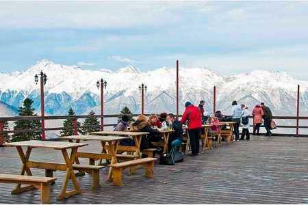 «Горная карусель» панорамный ресторан
