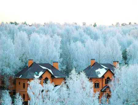 Подмосковье зимой