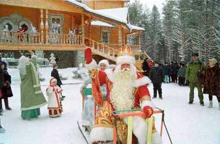 Великий Устюг Дед Мороз