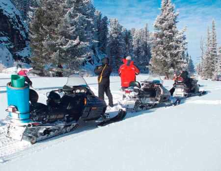 Туры по Алтаю на снегоходах